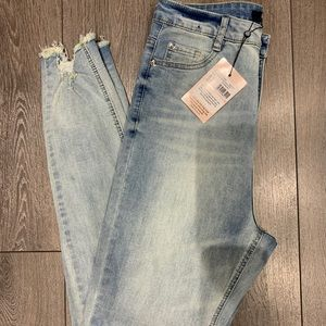 NWT Missguided TALL Light Wash Jeans